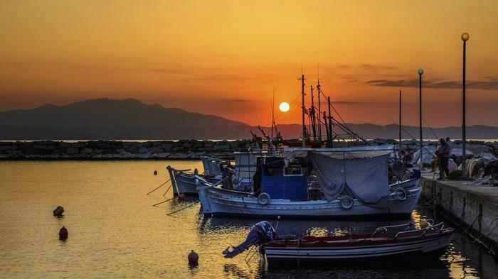 Красотата на зеления остров Тасос