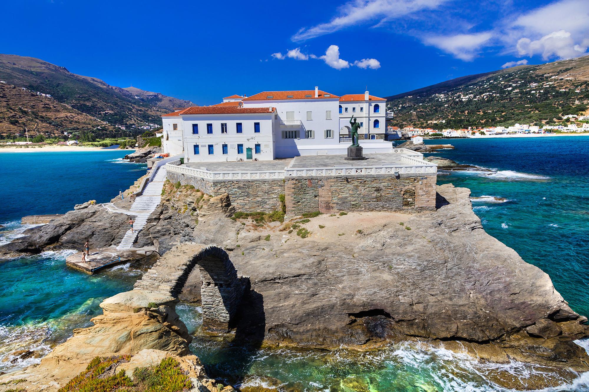 Андрос, малкият рай, където е роден Аристотел